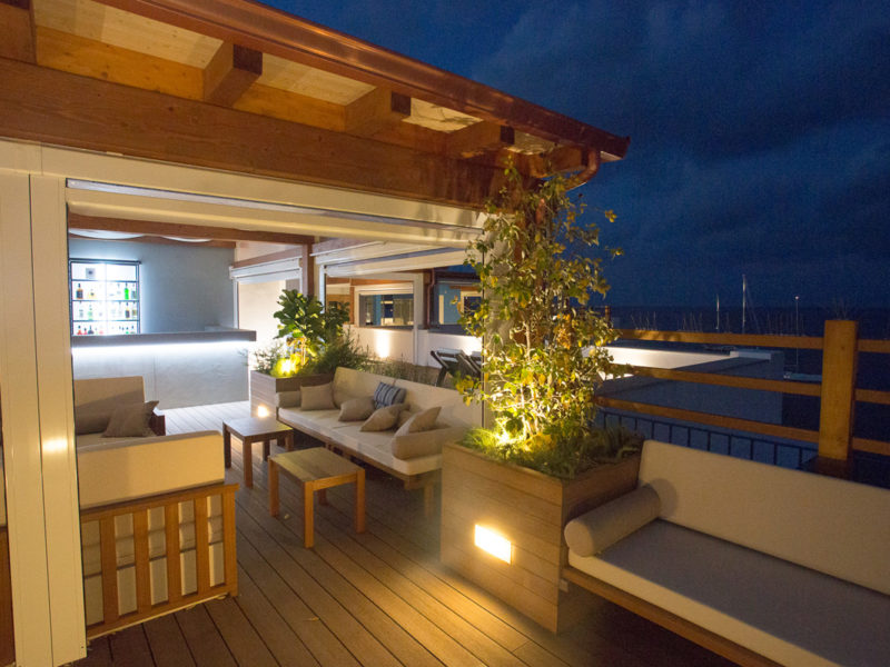 Rocce Azzurre Roof Garden – The Spa Center